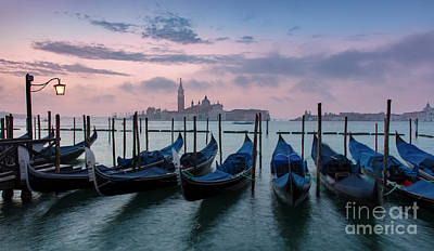 Poster featuring the photograph Venice Dawn Iv by Brian Jannsen