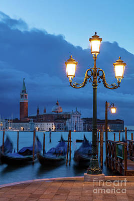 Poster featuring the photograph Venice Dawn V by Brian Jannsen