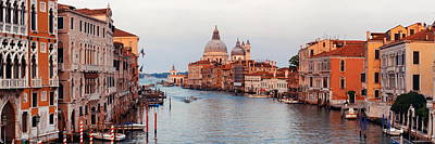 Poster featuring the photograph Venice Grand Canal by Songquan Deng