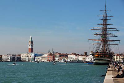 Venice Harborfront Poster