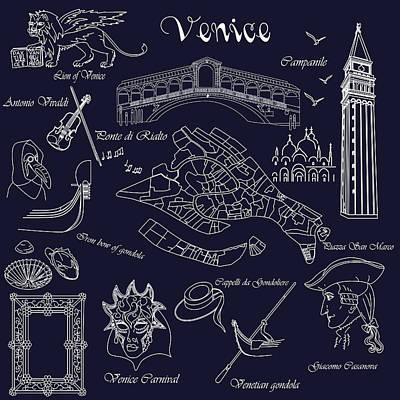 Venice In Miniature Poster