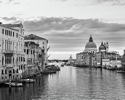 Poster featuring the photograph Venice Morning by Richard Goodrich