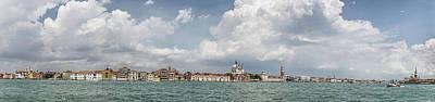 Venice Panorama From La Giudecca Poster