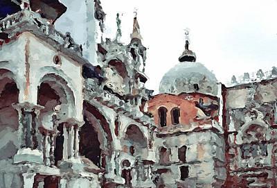 Venice Saint Mark  Poster