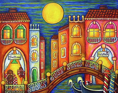 Venice Soiree Poster by Lisa  Lorenz