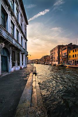 Venice Sunset Poster by Ivan Vukelic