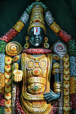 Venkateswara Poster by Tim Gainey