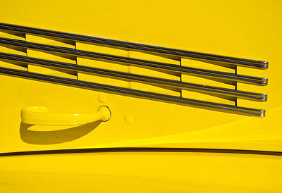 Vented Chrome To Yellow Poster