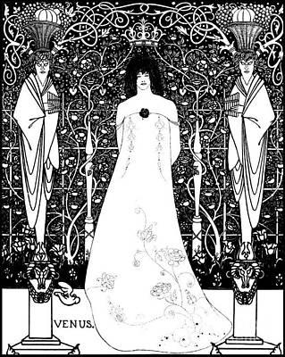 Venus 1895 Poster