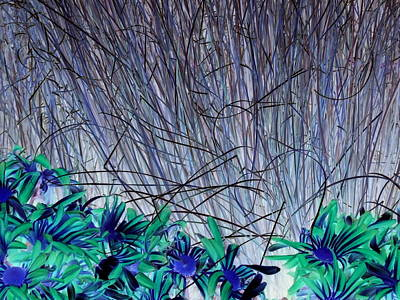 Venus Blue Botanical Poster