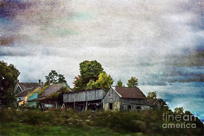 Vermont Barn Poster by Judy Wolinsky