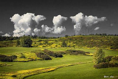 Vermont Landscape # 1 Poster by Yuri Lev