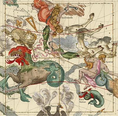 Vernal Equinox Poster by Ignace-Gaston Pardies