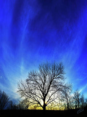 Vernal Sunset Poster