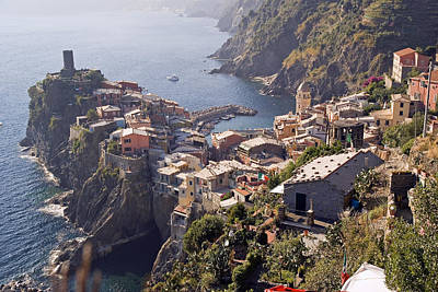 Vernazza And The Cinque Terre Poster