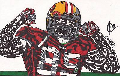 Vernon Davis 1 Poster by Jeremiah Colley