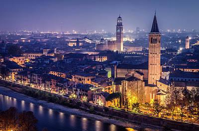 Verona. Poster by Pablo Lopez