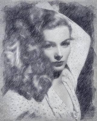 Veronica Lake Poster by John Springfield