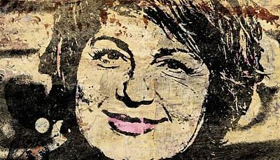 Veronique Genest Poster by Otis Porritt