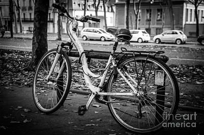 Versailles Bicycle Poster