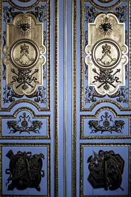 Versailles Door Poster