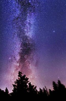 Vertical Milky Way Poster