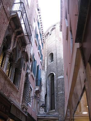 Vertigo In Venice Poster