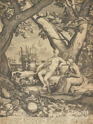 Vertumnus And Pomona, 1605  Poster