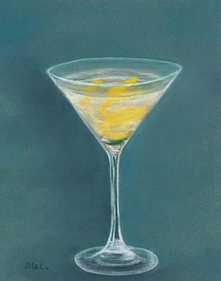 Vesper Martini Poster by Anastasiya Malakhova