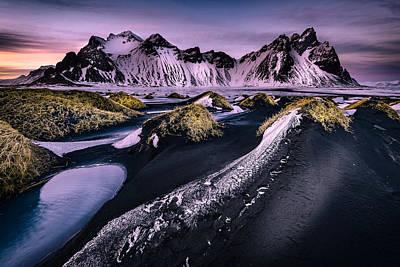 Vestrahorn, South Iceland Poster