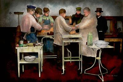 Veterinarian - Saving My Best Friend 1900s Poster