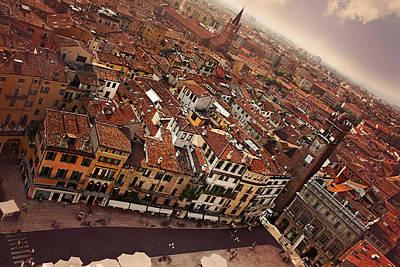 Vibrant Verona Poster by Carol Japp