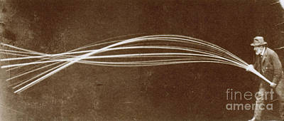 Vibration Of A Flexible Rod, 1886 Poster