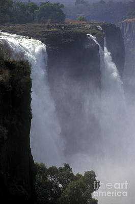 Victoria Falls - Zimbabwe Poster by Craig Lovell