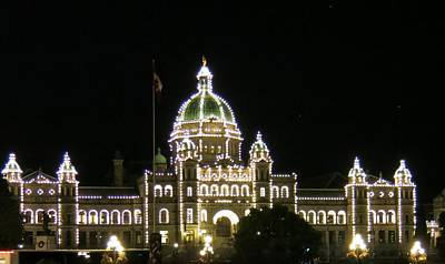 Victoria Legislative Buildings Poster