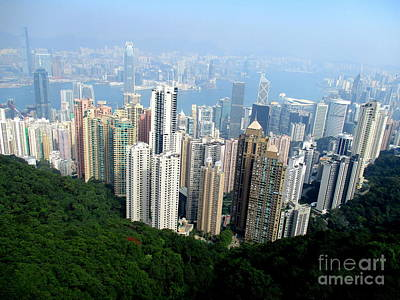 Poster featuring the photograph Victoria Peak 1 by Randall Weidner
