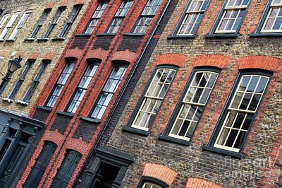 Victorian Houses Fournier Street London Poster