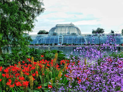 Victorian Kew Gardens Today  Poster