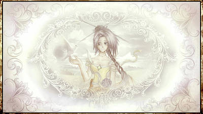 Victorian Princess Altiana Poster