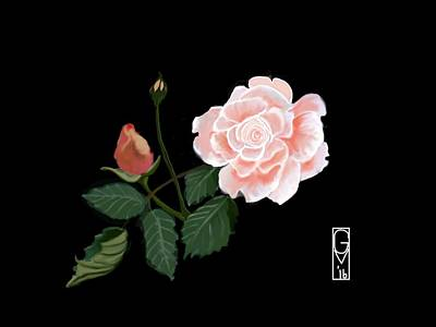 Victorian Rose Poster