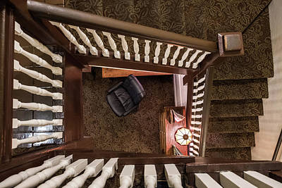 Victorian Stairway Poster