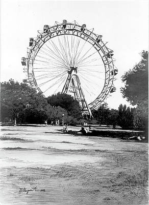 Viennese Giant Wheel Poster