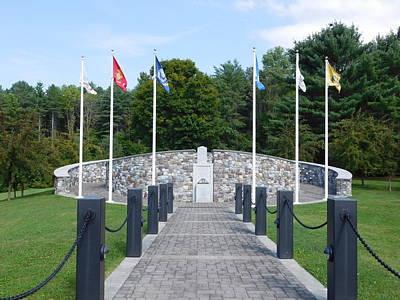 Vietnam Memorial In Vermont Poster
