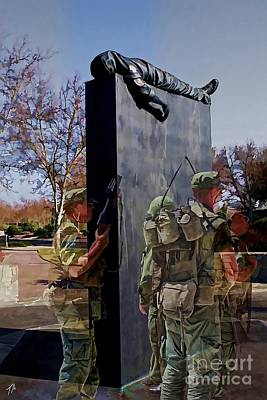 Vietnam Veterans Memories - In Oil Poster