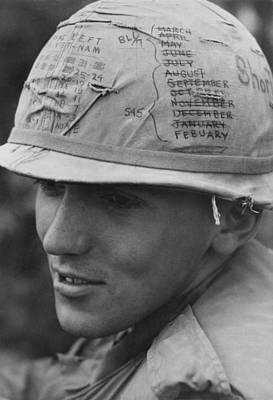 Vietnam War. A Us Army Sky Trooper Poster by Everett