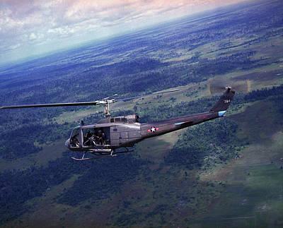 Vietnam War, Side View Of A Vietnamese Poster