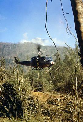 Vietnam War, South Vietnam, A Uh-1d Poster