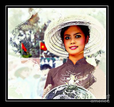 Vietnamese Culture Fashion Poster by Ian Gledhill