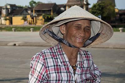 Vietnamese Street Vendor Poster