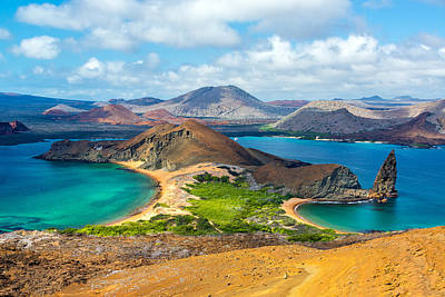 View From Bartolome Island Poster by Jess Kraft